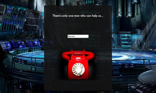 batman preview red phone