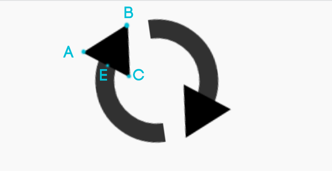 how to turn a circle into two arrows in illustrator